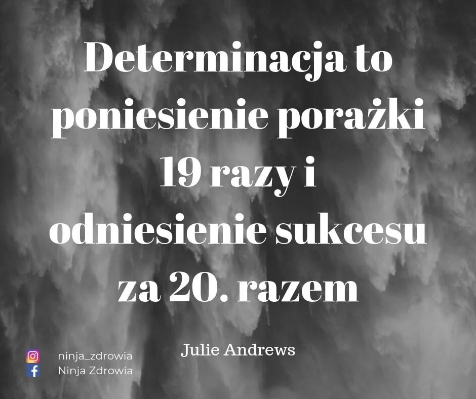 Julie Andrews - Motywacja - determinacja