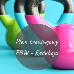 "Plan treningowy ""FBW - Redukcja"""