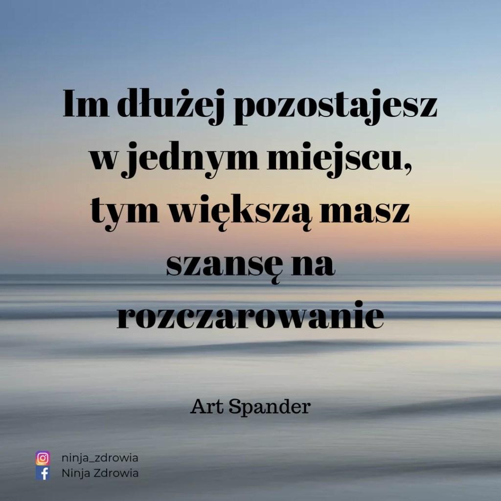 Art Spander - Motywacja - motywacja