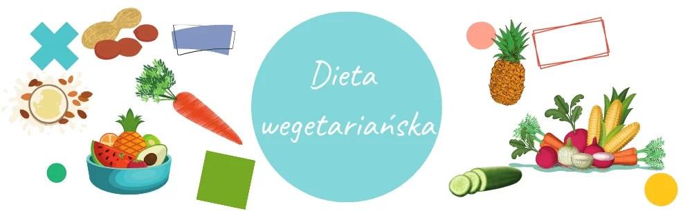 Dieta wegetariańska-baner