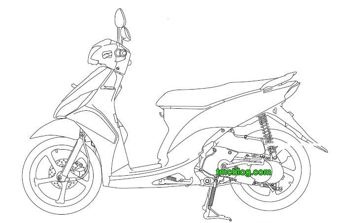 tmcblog.com » Beberapa Gambar Sketsa BluePrint Next Yamaha