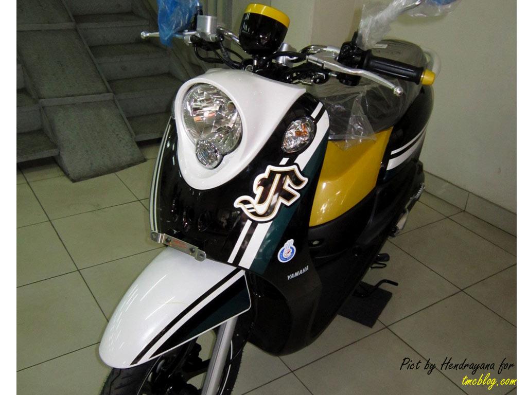 90 Modifikasi Motor Mio J Warna Hitam Putih