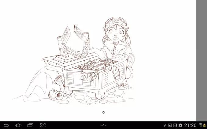 How To Fix Line Art In Sketch Layer Sketchbook Pro