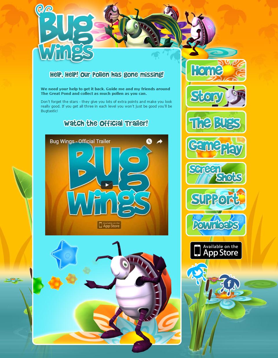 Ninja Beaver - Bug Wings Full Website