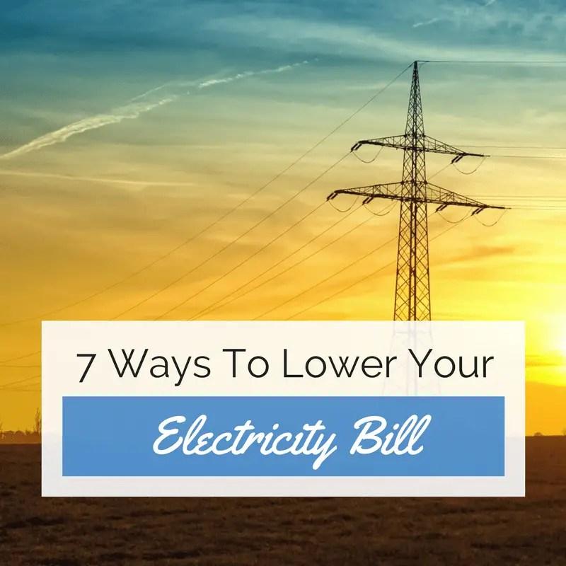 7 ways to lower your electricity bill ninjabudgeter. Black Bedroom Furniture Sets. Home Design Ideas