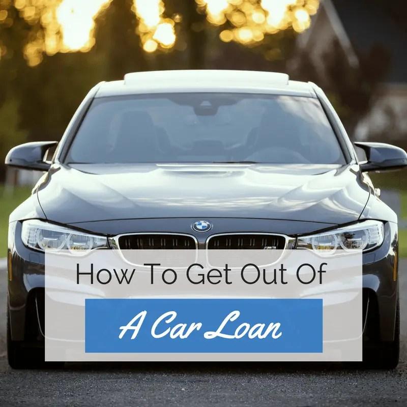how to get out of a car loan ninjabudgeter. Black Bedroom Furniture Sets. Home Design Ideas
