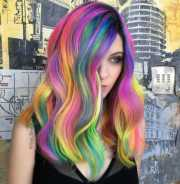 rainbow hair colors ideas