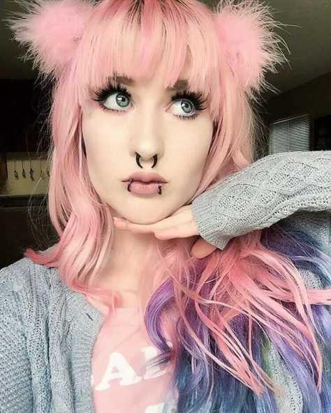 Hairstyle Mais De 20 Ideias De Pink Hair Que Voce Precisa Ver E