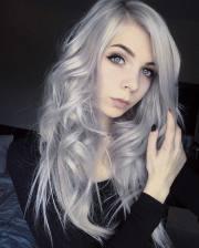 inspiring silver hair color