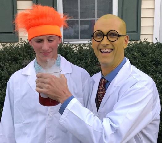 Dr. Bunson Honeydew and Beaker
