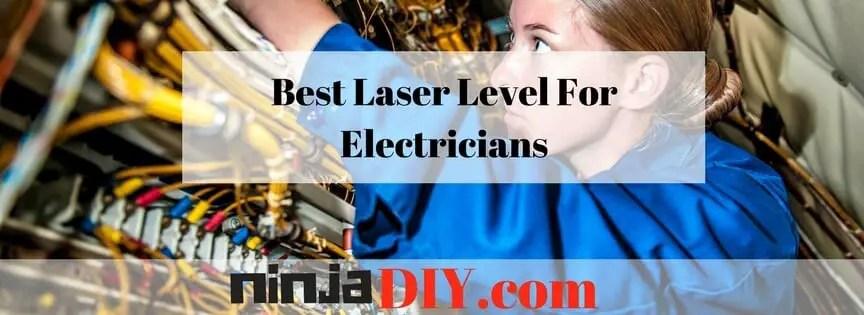 best laser level for electricians ninjaDIY.com
