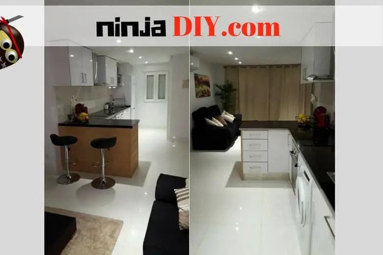 Good Job Installing Kitchen Cabinets Using A Laser Level