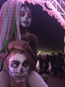 Tucker and Claudia, All Souls Procession