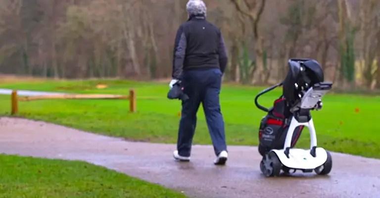 Electric Golf Push Cart