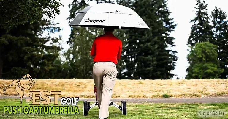 Golf Push Cart Umbrella
