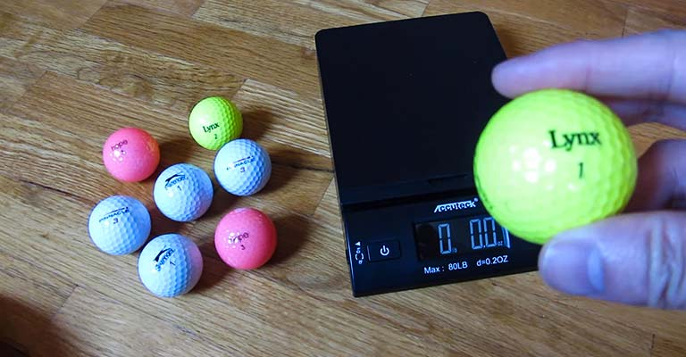 Meaning of the One-Digit Numbers on Golf Balls