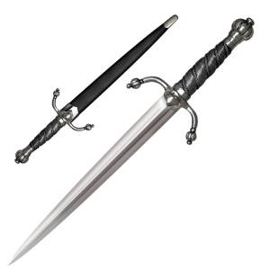 Cold Steel Ribbed Shell Rapier Companion Dagger Sword - 88CHD