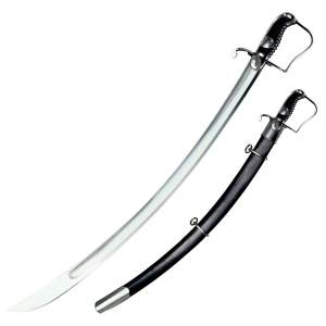 Cold Steel 1796 Saber with Leather Scabbard Sword - 88S