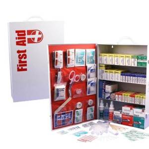 4 Shelf First Aid Cabinet