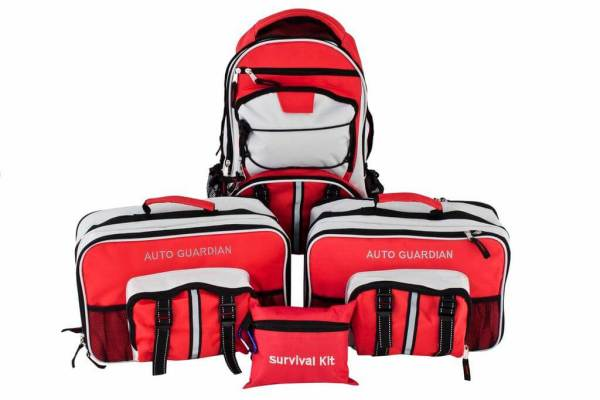 Guardian Emergency Preparedness Bundle For 2 - Home & Car Survival Kits - PPK2
