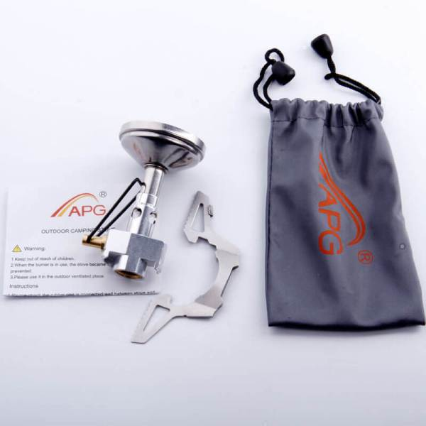 Portable Backpacking Stove contents