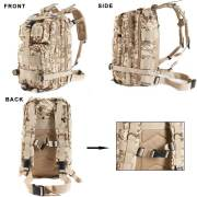 30L Rucking MOLLE Military Backpack for Day Hikes-Overview