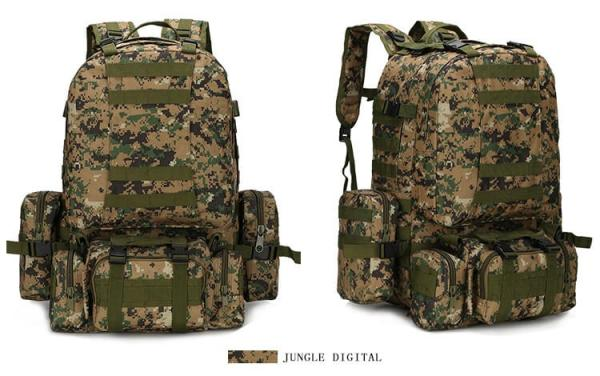 50L Mil-Spec MOLLE Backpack - MB003 - Jungle Digital