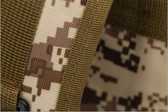 50L Mil-Spec MOLLE Backpack - high quality stitching detail