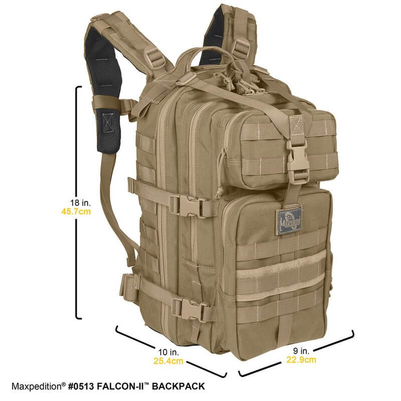 maxxpedition-falcon-II-backpack-military-specs