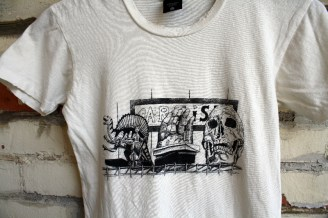 Collaboration Ninkybink tee with Artist Vicki Lee (www.vickileestudio.com)