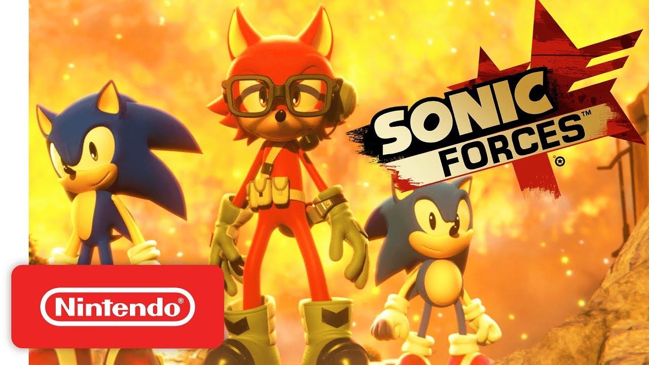 Sonic Forces For Nintendo Switch Launch Trailer NinMobileNews