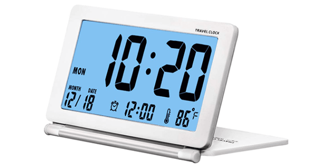 10 Best Travel Alarm Clocks Of 2020