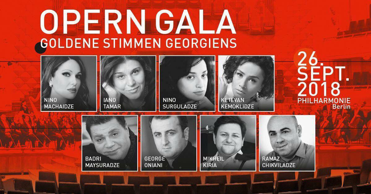 Opern Gala Philharmonie Berlin