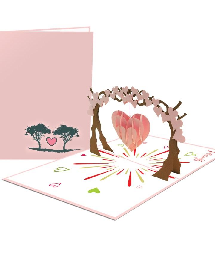 Tree 3D Card - Birthday Card