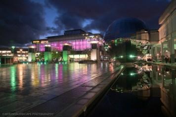 Millennium Square at night