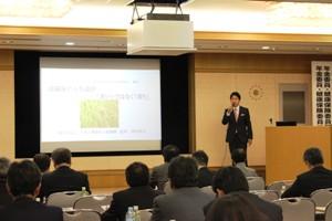 埼玉県社会保険委員会連合会・日本年金機構での飯田保夫講演