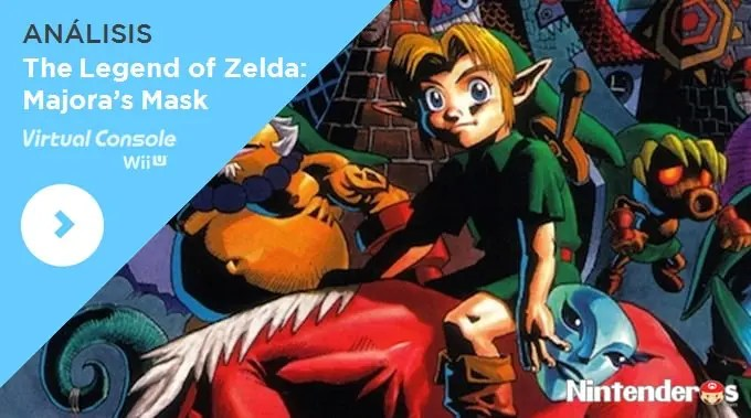 [análisis] 'the Legend Of Zelda Majora's Mask' (cv De Wii U)  Nintenderoscom  Nintendo