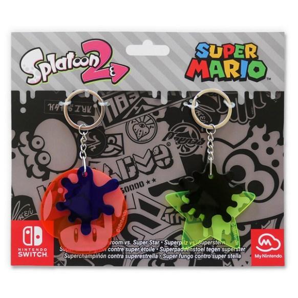 Splatoon-2-Splatfest-Keychain-Set super mario