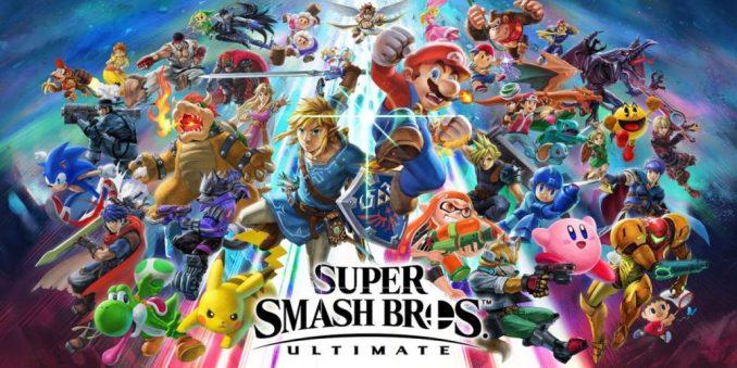 super smash bros ultimate cover art
