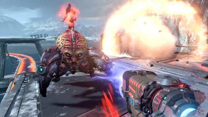 Doom Eternal nintendo switch screenshot