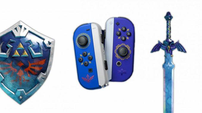 Nintendo Direct Zelda Joycons