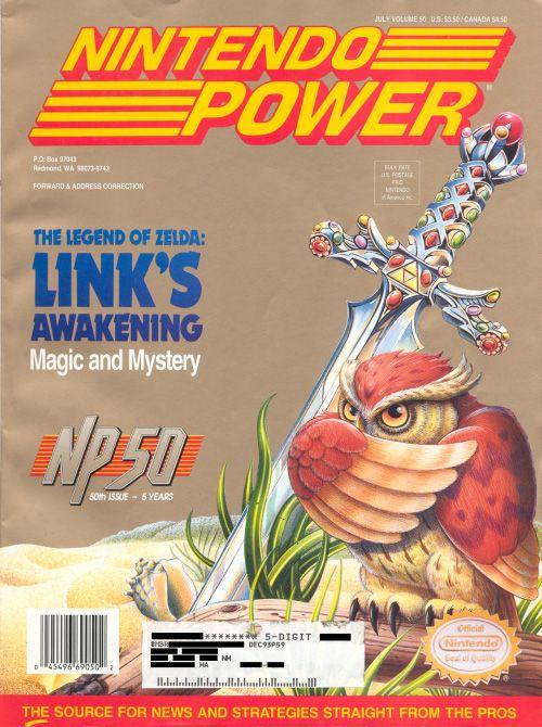 Nintendo Power & Link's Awakening