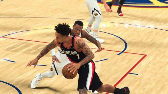 NBA 2K22 career