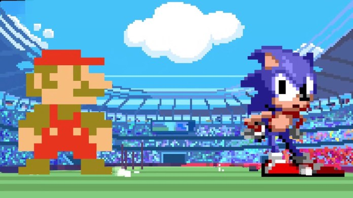 Mario-sonic-olympic-games-tokyo-2020-2D-sprites