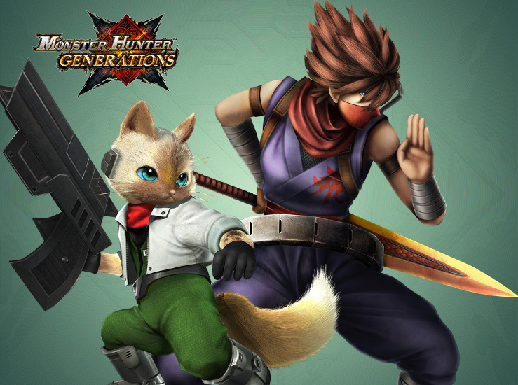 Monster Hunter Generations, le DLC gratuit disponible...