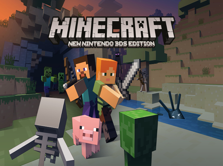 Minecraft: New 3DS Edition se met à jour...