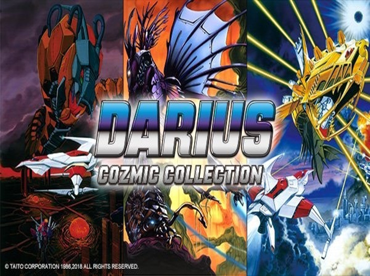Darius Cozmic Collection passe au scanner...