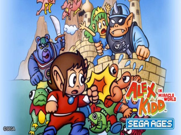 Sega Ages: Alex Kidd, le trailer...