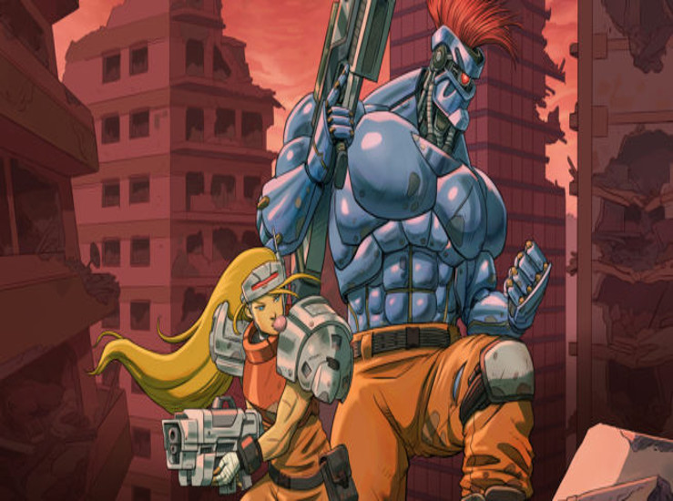 Blazing Chrome s'offre un trailer...