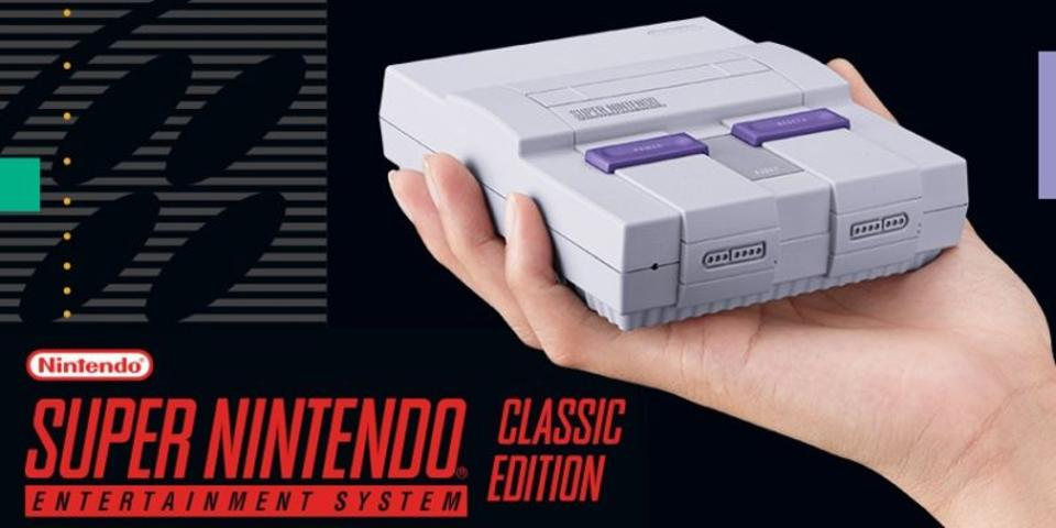 Video promocional do Super Nintendo Entertainment System Classic Edition